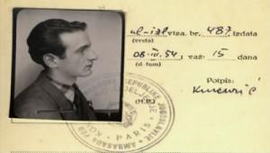 Elie Wiesel in 1954, age 26