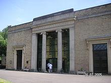 West London Crematorium, in 2005