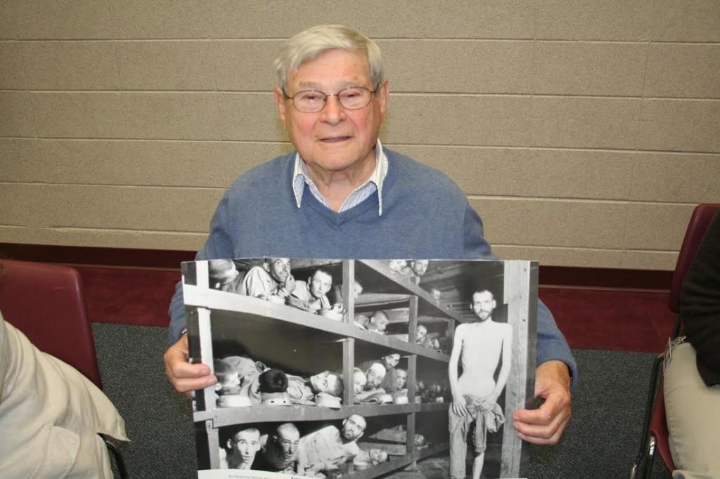Paul showing off famous photo
