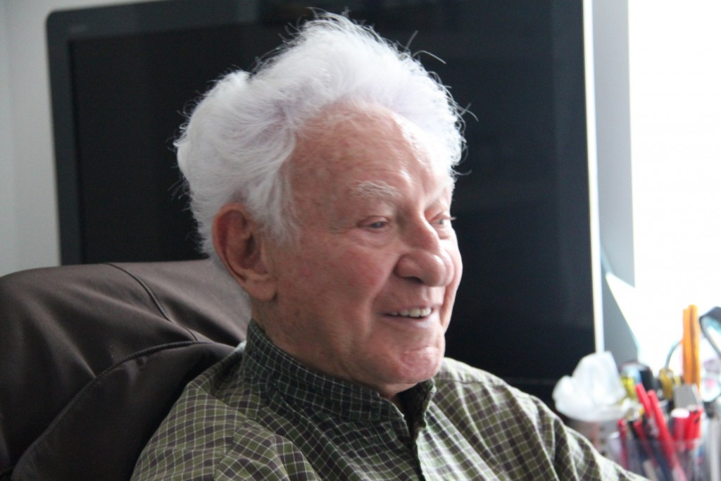 Martin Gray in his old age. Throughout his life as an entrepreneur, he wrote a number of books, but his most famous one was written by someone else.